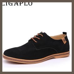 men shoes boat Suede Cow Split oxfords california casual shoes men's flats shoes 38-46 Size European style Free shipping