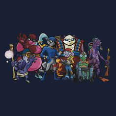 Sly Cooper Gang Extended