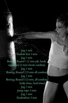 basic heavybag boxing workout fit-and-healthy