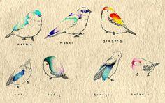 I will name my future bird mabel!