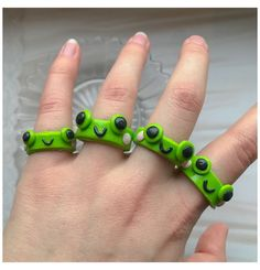 Fimo Ring, Polymer Clay Ring, Polymer Clay Crafts, Diy Clay Rings, Diy Accessoires, Clay Art Projects, Cute Clay, Clay Creations, Cute Jewelry