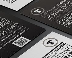 Typography Studio Business Card by Lemongraphic (via Creattica)