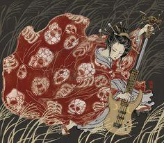 Dj Geisha o una pequeña revolución en la ilustración japonesa