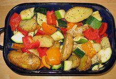Provenzalisches Backofengemüse, ein sehr schönes Rezept aus der Kategorie Gemüse. Bewertungen: 203. Durchschnitt: Ø 4,4.