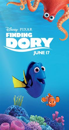 FINDING DORY Will Be Swimming In Theaters June 17th. Learn How To Get Free…
