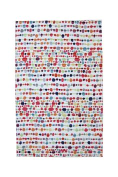 Delerus Rug - Multi by Mohawk on @HauteLook  (I love how happy this rug looks.  It would be really cute in a kids room.)