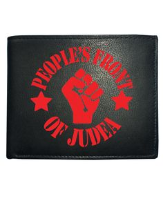 awesome PEOPLE'S FRONT OF JUDEA - NOT THE JUDEAN PEOPLE'S FRONT Men's Leather Wallet From FatCuckoo