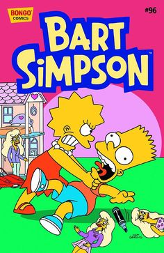Front Cover: Bart uses a marker to draw some Lisa's dolls with mustaches. Lisa furiously strangled him like Homer. Bart thinks that he loves her like a friend. Best 90s Cartoons, Dope Cartoons, Dope Cartoon Art, Comic Book Guy, Comic Book Covers, Comic Books, Bart And Lisa Simpson, Homer Simpson, Simpson Wallpaper Iphone
