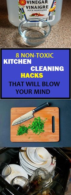 Extend your life with these non-toxic cleaning hacks #claning#hacks#cleaninghacks#kitchen#kitchencleaning