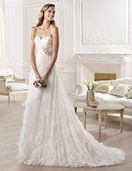 Beeeee-utiful!!! Pronovias > Pronovias presents the Orera wedding dress. Fashion 2014.