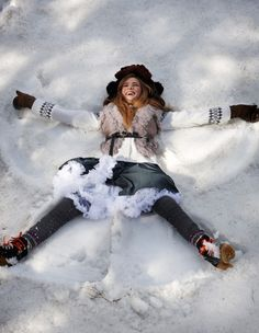 Winter is coming !!! / Snow Angel