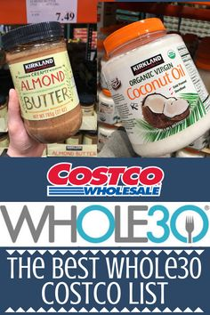 If you're doing a Whole30 & need some help grocery shopping, I've put together The Best Whole30 Costco Shopping List! Stock your kitchen with these finds! #whole30 #costco #whole30approved #whole30recipes