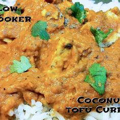 Slow Cooker Coconut Tofu Curry