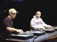 DJ Qbert and D Styles scratchin' it up