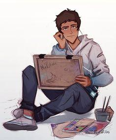 Artist Lance by enotrobin