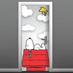 Adesivo para Porta Snoopy 517