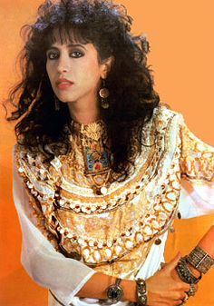 Ofra Haza  (19 November 1957 – 23 February 2000) --  Israeli singer, actress and international recording artist.  Her voice has been described as mezzo-soprano, of near-flawless tonal quality, capable of lending itself to a variety of musical styles with apparent ease. Inspired by a love of her Yemenite and Hebrew culture, her music quickly spread to a wider Middle Eastern audience, somehow bridging the divide between Israel and the Arab countries.
