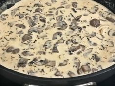 Low-Carb and Keto Creamy Mushroom Sauce to pair with absolutely any dish you desire. Creamy Garlic Mushrooms, Creamy Mushroom Pasta, Steak And Mushrooms, Stuffed Mushrooms, Mushroom Soup, Mushroom Recipes, Low Carb Sauces, Low Carb Recipes, Diet Recipes