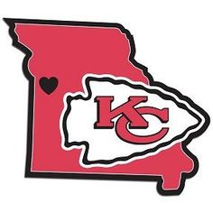 Home State Decal Kansas City Chiefs - 46825
