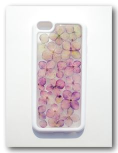 iPhone iPhone 5C case. Resin with Dried flower by Annysworkshop, $20.00