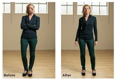Before and After Networking Body Language