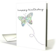 #butterfly #birthday #card sold to customer in  Maryland, United States
