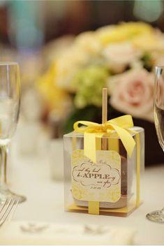 delicious wedding favors