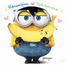 Harumunion with Tachibanana ...  From racyue ...  Free! - Iwatobi Swim Club, haruka nanase, haru nanase, haru, nanase, free!, iwatobi, tachibanana