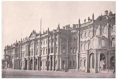 St. Petersburg - The Winter Palace c. 1914