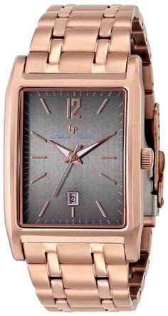Lucien Piccard Men's LP-91085-RG-104 Taverna Analog Display Japanese Quartz Rose Gold Watch -- You can get additional details at the image link.