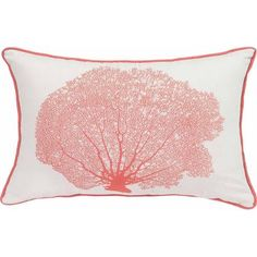 Better Homes and Gardens Coral Decorative Pillow with Binding - Walmart.com
