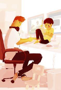 Office Buddy. by PascalCampion