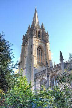St Mary's Church, Oxford by Baz Richardson, via Flickr