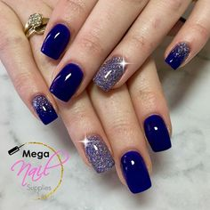 me - - classy fall wedding nail art color 16 ~ thereds.me Nail Designs edle Herbsthochzeitsnagelkunstfarbe 16 ~ thereds. Gorgeous Nails, Pretty Nails, Hair And Nails, My Nails, Purple Nails, Navy Blue Nails, Blue And Silver Nails, Burgundy Nails, Nail Art Blue