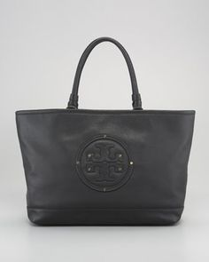 Maisey Leather Shopper by Tory Burch at Bergdorf Goodman.