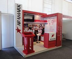 cliente: ARAMARK PERU evento: PERUMIN 2013 Stand Feria, Trade Show Booth Design, Exhibitions, Peru, Loft, Furniture, Home Decor, Shopping, Events