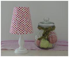 Wunderschöne Tischleuchte mit einer Gesamthöhe von 31cm. Diese Lampen biete ich in meinem Shop auch mit einer anderen Gesamthöhe an.