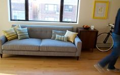 federal style interiors - Google Search- like this sofa profile?