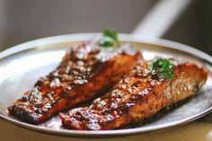 South Indian Tamarind Glazed Salmon recipe on Food52