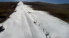 It's a long way to the top...it's much quicker on the way down @Afriski Mountain Resort!