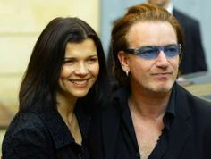 Bono is married to Alison Stewart Hewson. Their relationship began in November 1975.  Soon after the death of Bonos mother, Ali took care of Bono, cleaning his clothes, going to school with him, and cooking food for him to eat.  Thecouple were married on August 21, 1982 in a Church of Ireland (Anglican) ceremony at All Saints Church, Raheny (built by the Guinness family), with Adam Clayton acting as Bonos best man. The couple have four children, daughters Jordan (born May 10, 1989