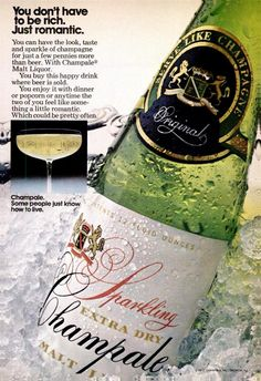 Champale Beer ad, Jet, May 18, 1972
