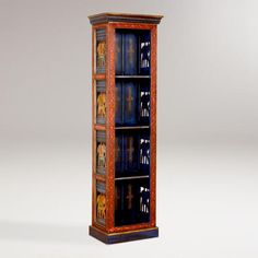 One of my favorite discoveries at WorldMarket.com: Painted Elephant Wood Cabinet