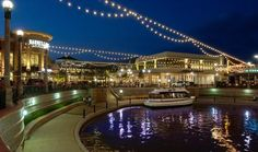 The mall in The Woodlands, Tx