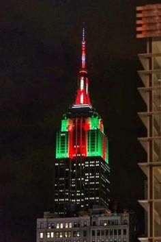 Merry Christmas, Empire State Building, NYC... Thank you soo much Chris Margott...fun times!!! Woo Hoo!!!