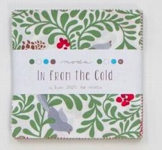 Moda Charm Pack In From the Cold Patchwork Fabric > Moda Charm Packs