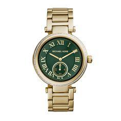 Skylar Gold-Tone Stainless Steel Watch
