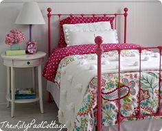 pom pom quilt for girls room pb teen knock off