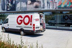 """GO! Dodávka. GO! EXPRESS se umí přizpůsobit vašim potřebám. Ke každému klientovi přistupují individuálně a vždy poskytují nadstandardní servis, který z GO! EXPRESS & LOGISTICS dělá něco víc, než obyčejnou """"balíkovku"""". Vehicles, Car, Vehicle, Tools"""