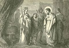 """St. Frumentius - Called """"Abuna"""" or """"the father"""" of Ethiopia, sent to that land by St. Athanasius.They introduced Christianity to that land. Frumentius and St. Aedesius are considered the apostles of Ethiopia.Feastday: October 27 Patron of Aksumite Empire"""